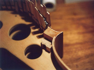 Making of a cello