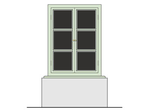 Proposal for a small appartment building on a streetcorner in the Edisonstraat in Woensel West, Eindhoven.