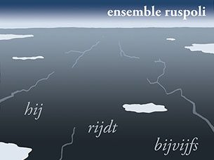 Poster and program for a concert by Ensemble Ruspoli.